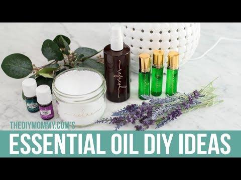 ESSENTIAL OIL DIY IDEAS!   The DIY Mommy