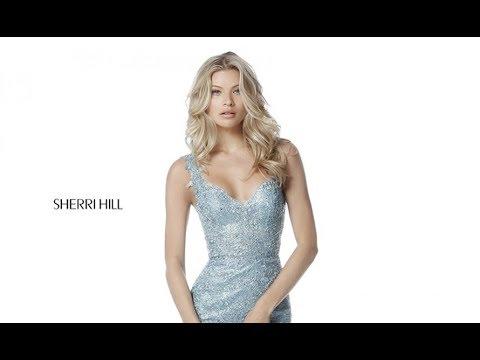 bf0af0688cf Sherri Hill 51571 Prom Dress - YouTube