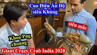 Giant Crazy Crab Mumbai - Food Tour India 2020