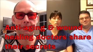 ER doctors turned anti-aging & wound healing experts - Dr. Julie & Rob Hamilton