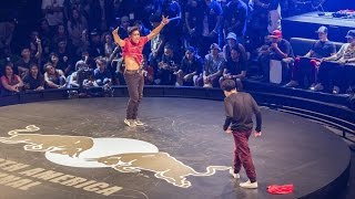 Moy VS Rion - Quarterfinal - Red Bull BC One North American Final 2015