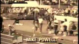 Mike Powell vs. Carl Lewis - Long Jump - World Record