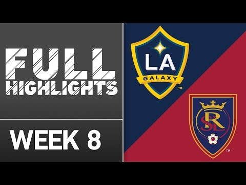 HIGHLIGHTS: LA Galaxy vs Real Salt Lake | April 23, 2016