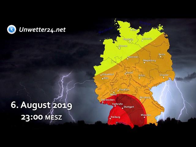 InfoClip: Im Süden schwere Unwetter durch Tief