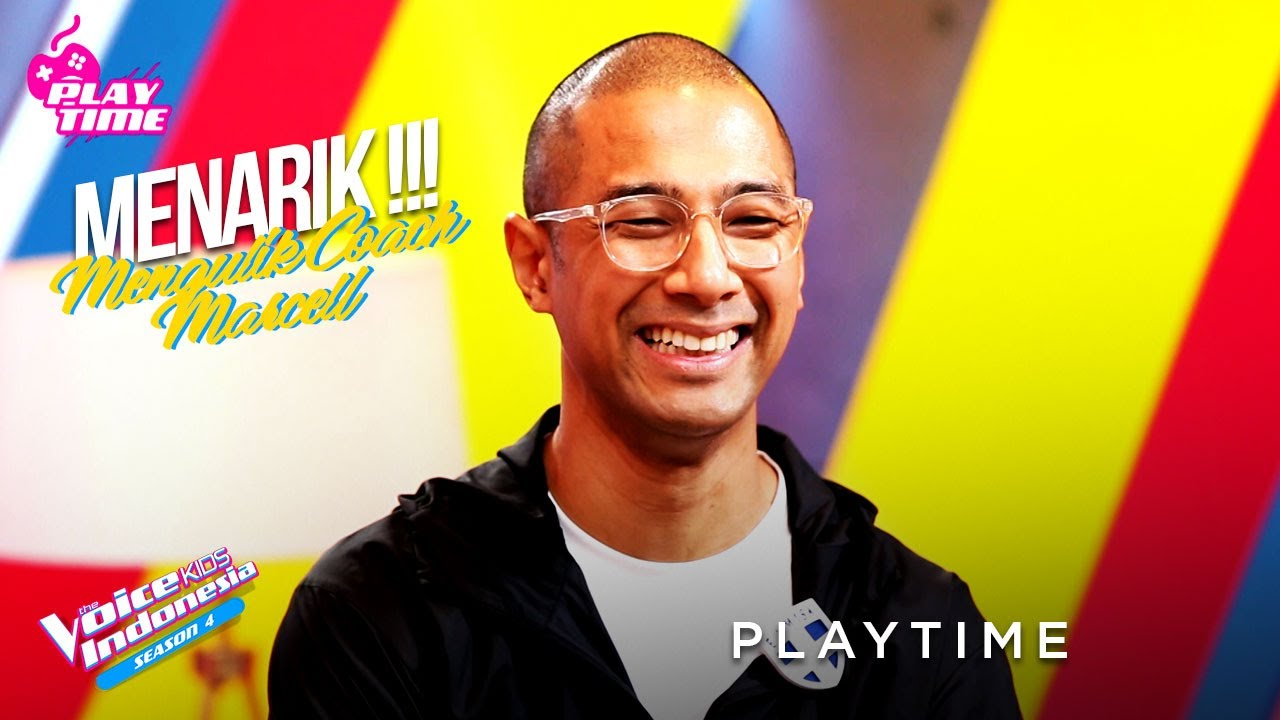 Coach Marcell Pernah Sobek Celananya Pas Dipanggung?? | PLAYTIME | The Voice Kids Indonesia Season 4