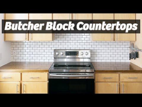 Diy Butcher Block Countertops Ikea