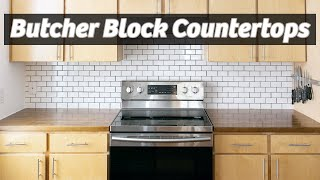 DIY Butcher Block Countertops | IKEA | How To Make