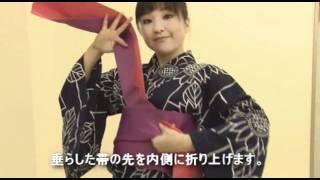 KIMONDOU式 帯の結び方 女性浴衣編 yukata obi for women thumbnail