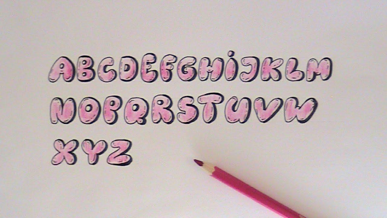 Fancy Cursive Bubble Letters Full Hd Pictures 4k Ultra Swirly Youtube Write Happy