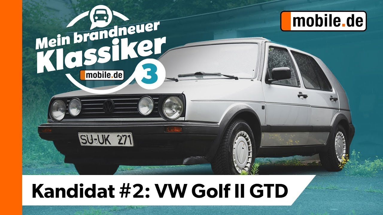 Oldtimer Serie Vw Golf 2 Gtd Mein Brandneuer Klassiker Mobile