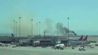Boeing 777 Plane Crashes At San Francisco International Airport  06/07/2013