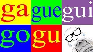 Aprender a Leer 20 – Sílabas ga gue gui go gu – La Letra g  - Canal Block 6