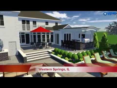 Outdoor Living Design Tips - Establish A Traffic Pattern - VizX Design Studios - (855) 781-0725