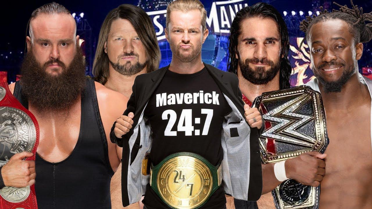 WWE 2K19 | WWE CHAMPIONS ELIMINATION CHAMBER