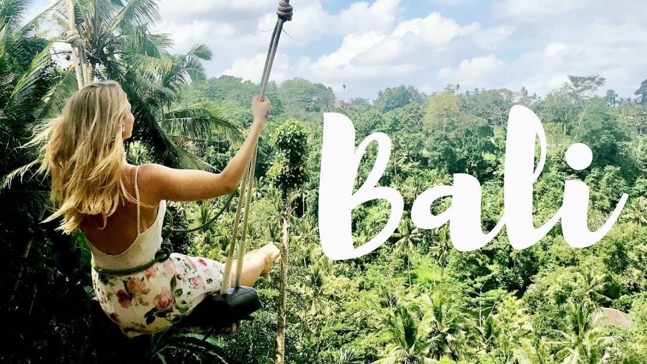 Swing Chair Ubud Children S Beach With Umbrella Australia Bali | Ubud, Monkeys, & Cooking Vlog One - Youtube