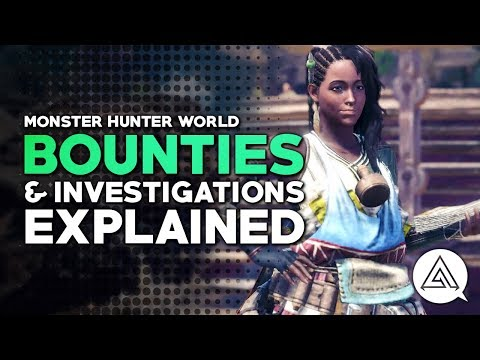 Monster Hunter World | Bounties & Investigations Explained