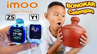 Drama Praya Buka Celengan Untuk Beli imoo Watch Phone Z5 & Y1 | Jam Tangan Anak Bisa Video Call