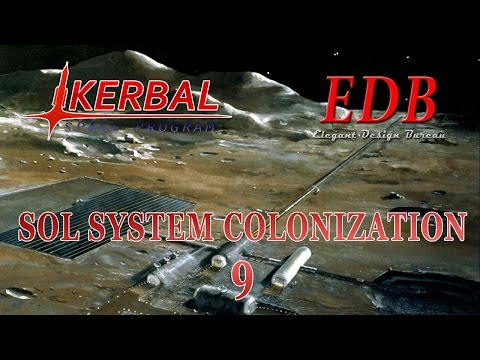 Sol System Colonization in KSP/RO - 09 (2015-12-13)