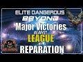 Elite: Dangerous Major victories against the League of Reparation