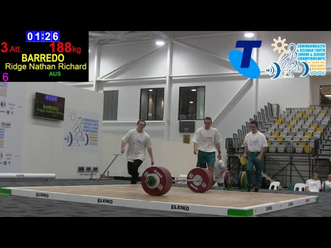 2017 Commonwealth & Oceania Championships - Day 5 - Afternoon Session