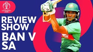 The Review - South Africa vs Bangladesh   Proteas Stunned!   ICC Cricket World Cup 2019
