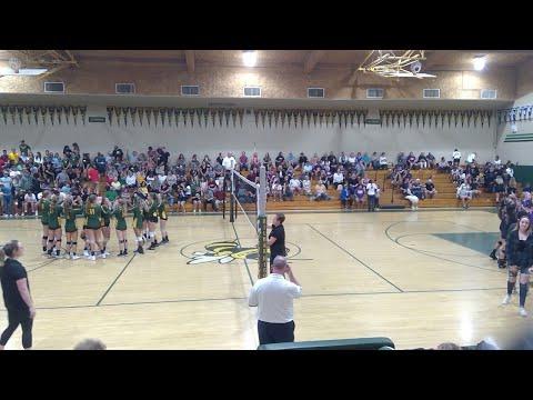 Escalon High School @  Hilmar  High School Volleyball