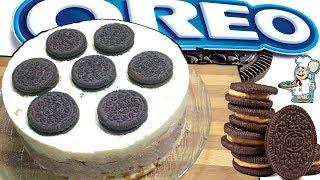 ОРЕО Творожный Торт без выпечки. OREO Curd Cake without baking.