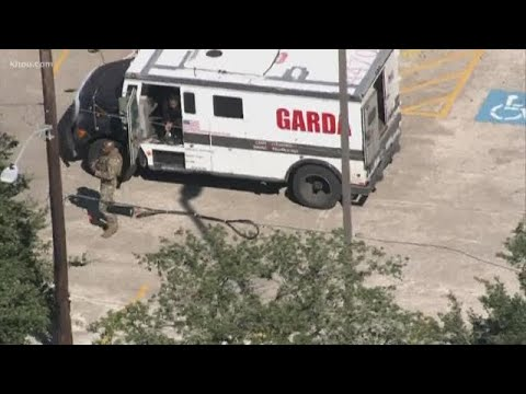 SWAT officers thwart armored car robbery, suspect shot in SW Houston