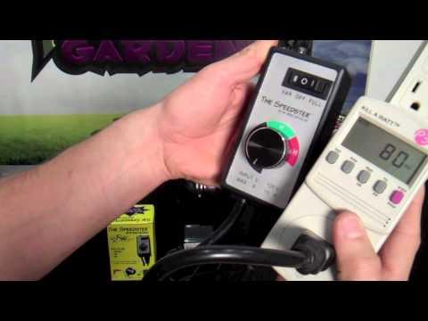 speedster fan speed controller product test review inline duct fan speed control speedster