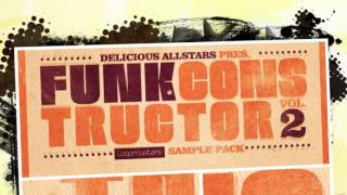 Delicious Allstars Funk Constructor Vol 2 - Funk Samples & Loops - By Loopmasters