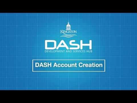 DASH - Create An Account For Your Application