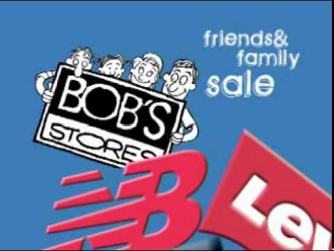 Bob's Stores Friends & Family Sale 2011