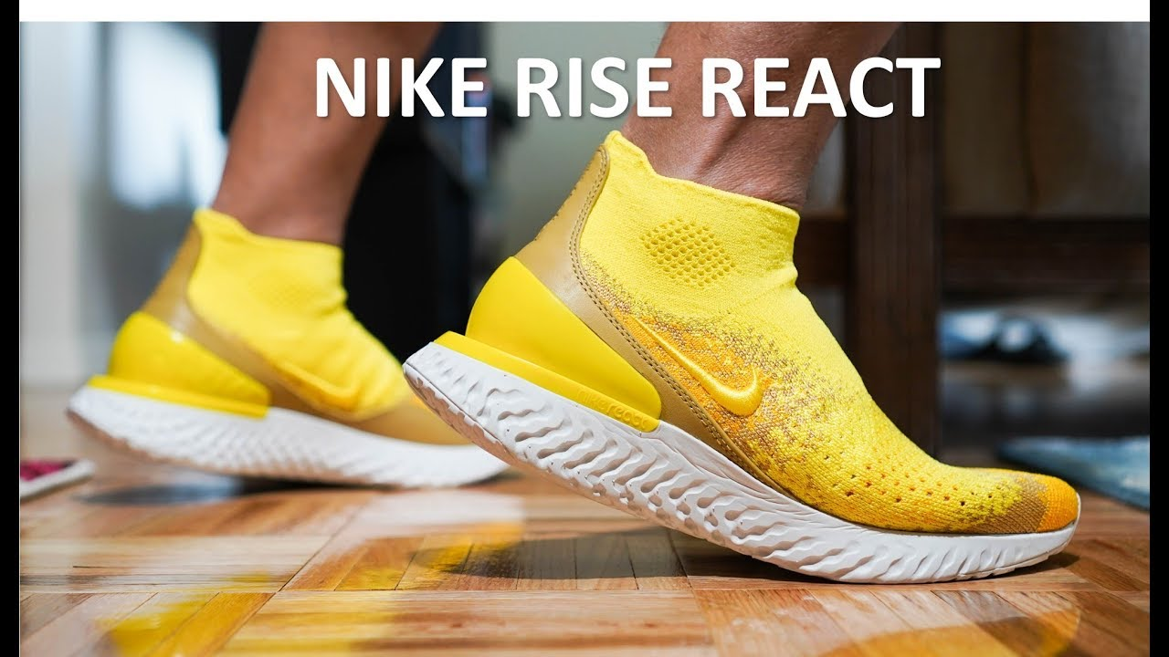 3c04322b43db Nike Rise React - Review On-Feet - YouTube