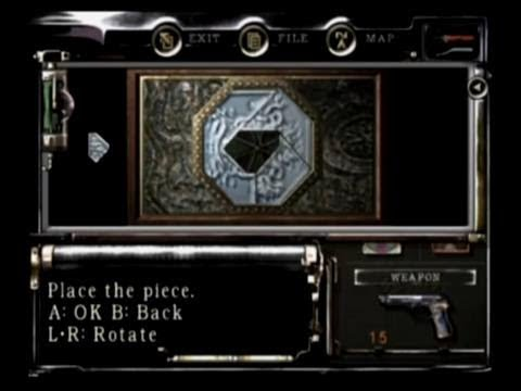 Resident Evil 1 Jewelry Box Puzzle Guide YouTube