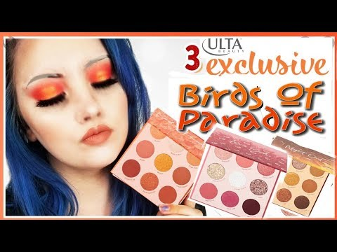 NEW Colourpop Birds of Paradise Night Owl and Love Bird AT ULTA ? Swatches and COMPARISONS