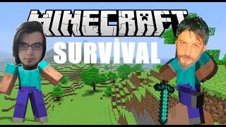 Ev Yapıyoruz | Minecraft Türkçe Survival Multiplayer | Bölüm 2