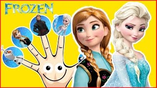 Frozen Elsa Anna Finger Family Hulk Peppa Pig Nursery Rhymes Lyrics Kids Songs