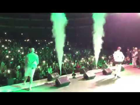 Bad Bunny ❌ Noriel 🇪🇨🇪🇨🇪🇨 Concierto en Quito-Ecuador 🐰☢ 2017 Me Llueven 3.0
