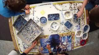 Die VOL.AT-Redaktion scheitert am Star Wars-Puzzle von Ravensburger mit 5.000 Teile