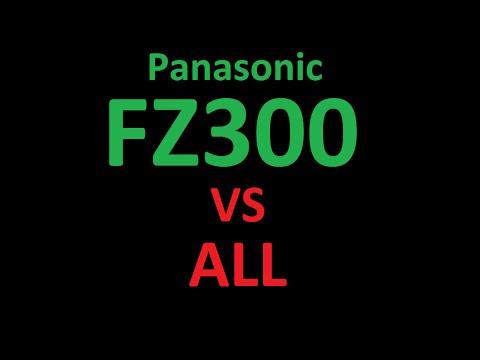 Panasonic LUMIX DMC-FZ300 vs all competitors