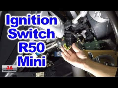 How to replace Ignition Switch on R50 Mini Cooper and stop the Wipers from  running on their own