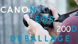 Je vous presente mon nouvel appareil photo!! CANON EOS 200D