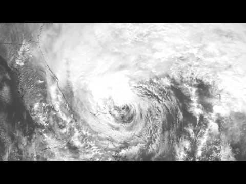 Dawn to Dusk: Hurricane Sandy, October 26, 2012, Super Rapid Scan