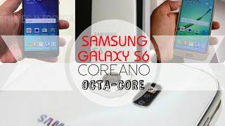 Samsung Galaxy S6 Coreano Octa-Core