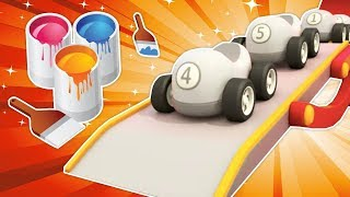 Learn Colors for Kids with Helper Cars Cartoons: Educational Cartoons for Kids