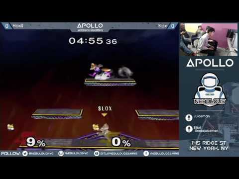 Apollo III Pro Bracket – Hax vs. Slox