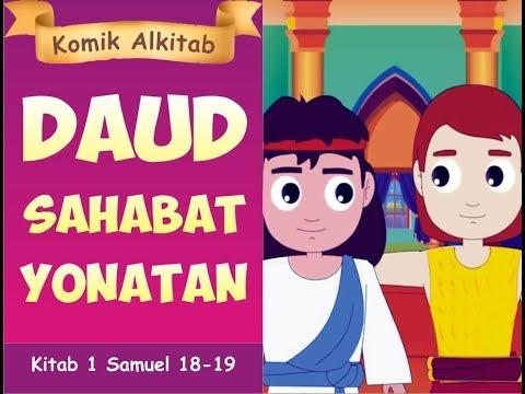 Daud Sahabat Yonatan Buku Komik Cerita Alkitab Anak Kristen