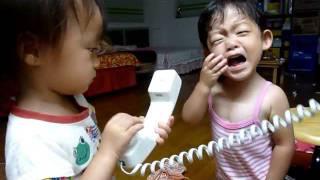 回台灣時第一次用電話和在日本的爸爸講越洋電話(當時還沒買智慧型手機。...