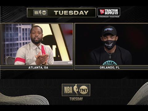 Shaq, D-Wade and Vince Show Love to Udonis Haslem | NBA on TNT Tuesday