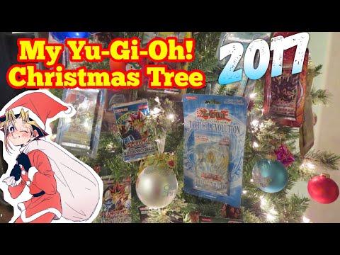 My Decorative Yu-Gi-Oh! Christmas Tree - 2017 Special!
